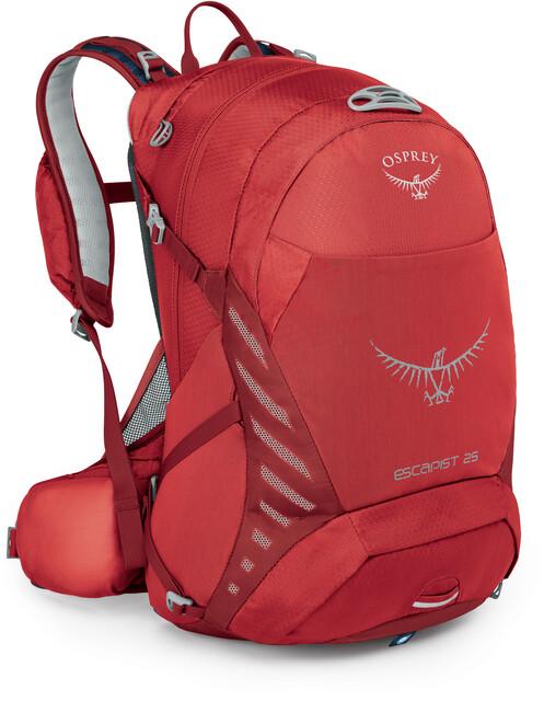 Rucksack Für Kletterausrüstung : Osprey escapist rucksack m l cayenne red campz